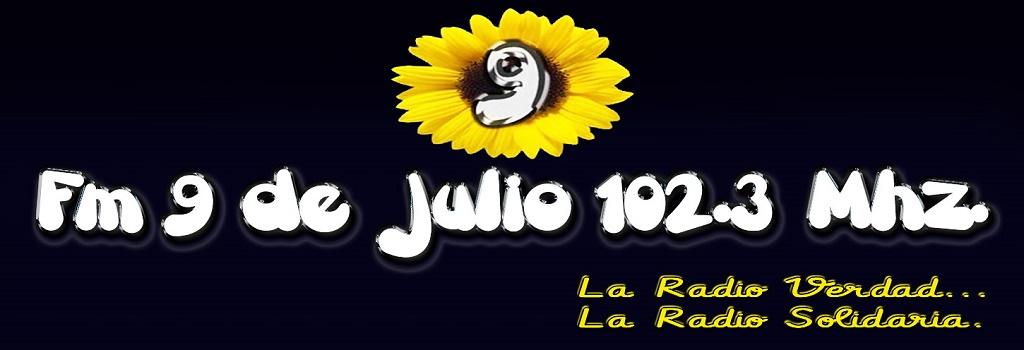 Fm 9 de julio 102.3 – Tres Isletas – Chaco
